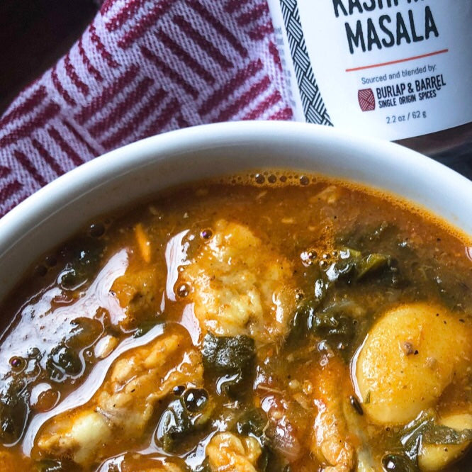 Pork & Bean Stew with Kashmiri & Garam Masalas