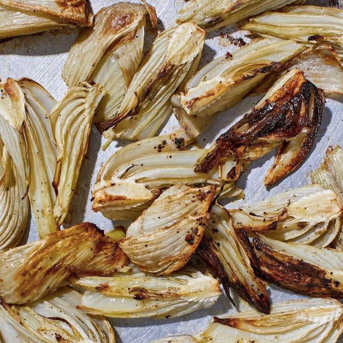 Roasted Fennel with Black Urfa Chili