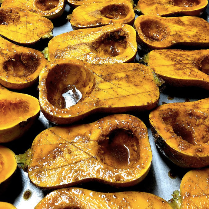 Spiced Winter Squash