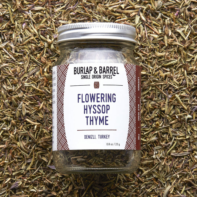 Flowering Hyssop Thyme - Burlap & Barrel Single Origin Spices