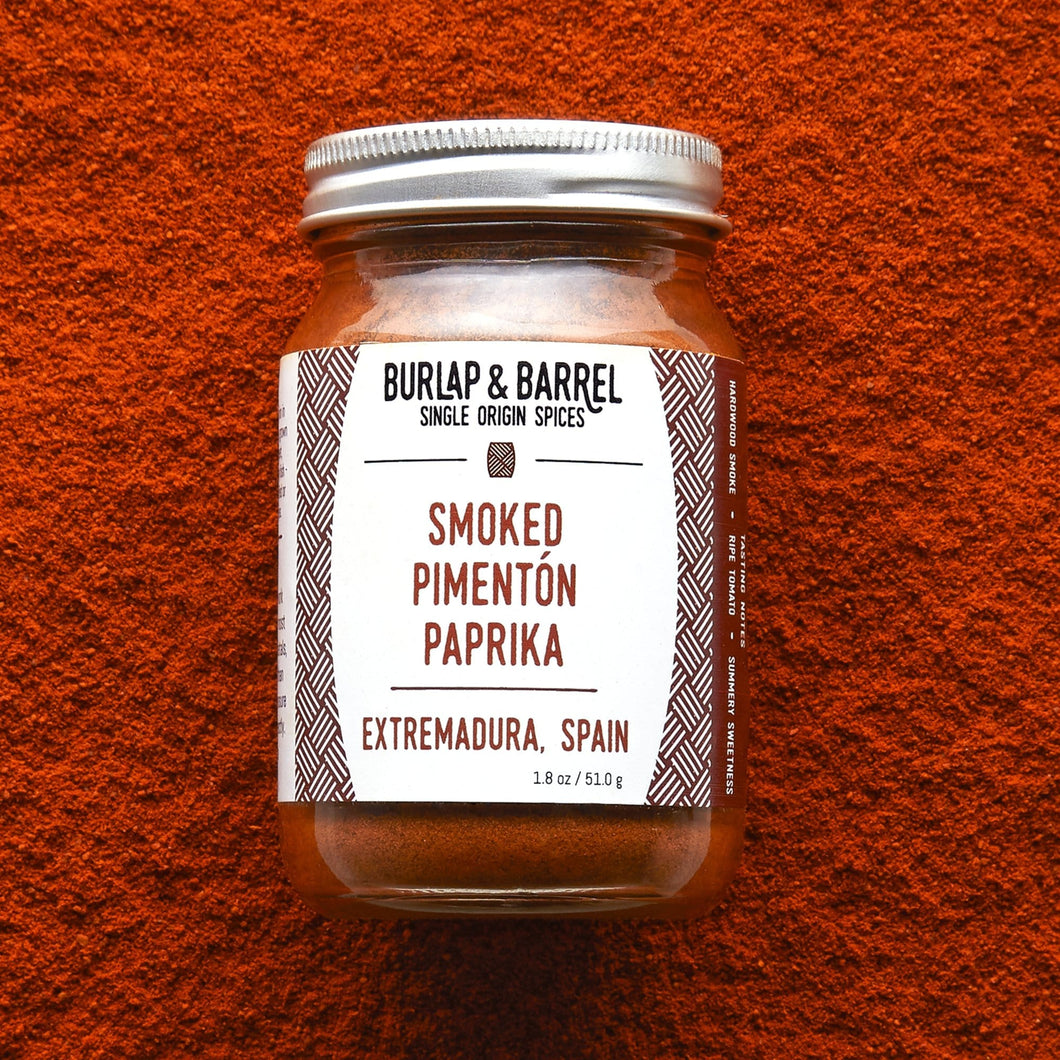 Smoked Pimentón Paprika - Burlap & Barrel Single Origin Spices