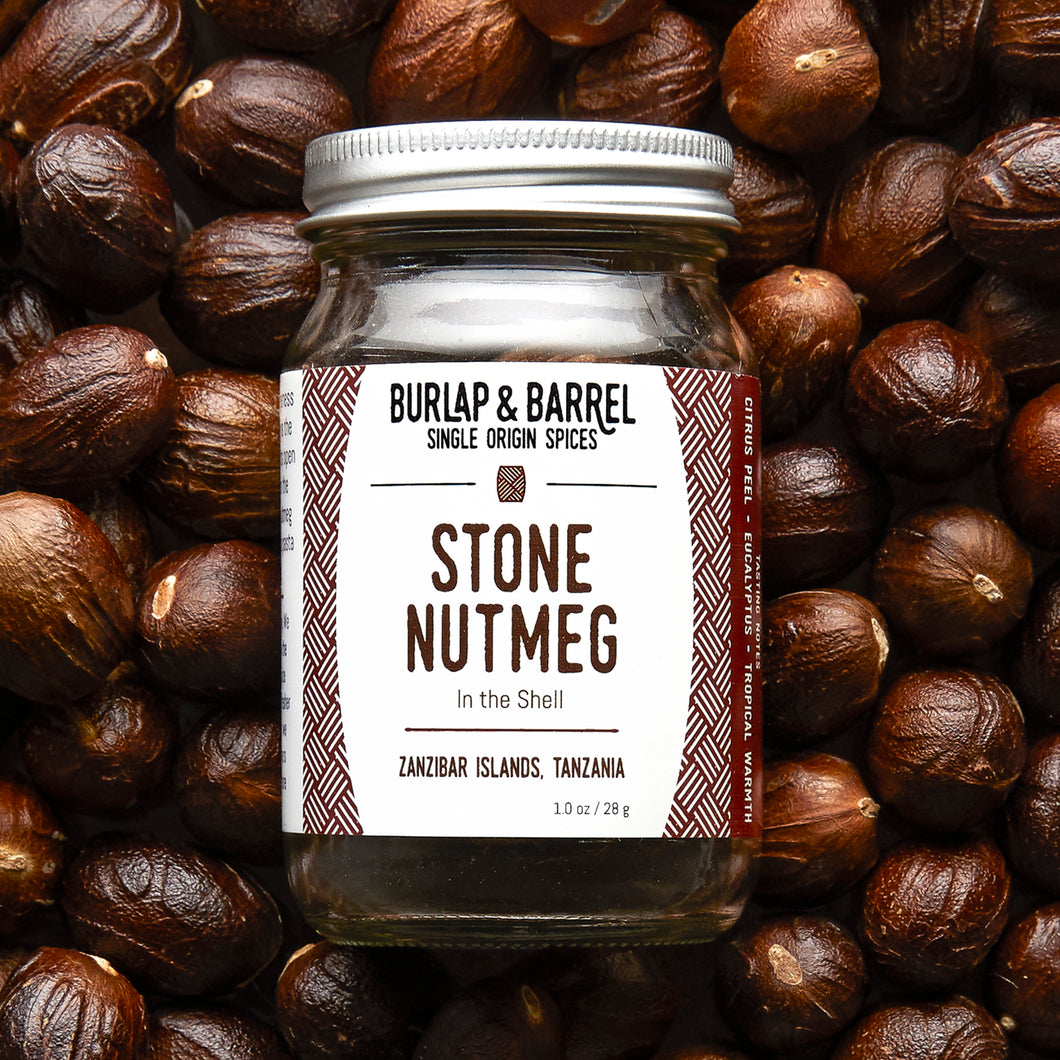 Stone Nutmeg - Burlap & Barrel Single Origin Spices