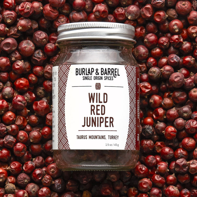 Wild Red Juniper Berries - Burlap & Barrel Single Origin Spices