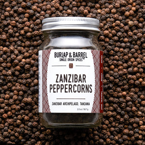 Zanzibar Black Peppercorns - Burlap & Barrel Single Origin Spices