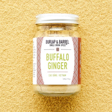 Load image into Gallery viewer, Burlap & Barrel Buffalo Ginger 1.8 oz glass jar