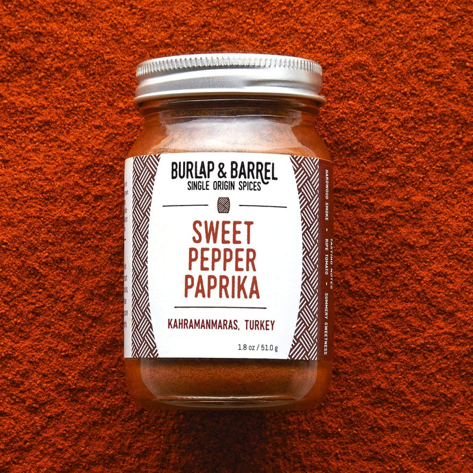 Burlap & Barrel Sweet Pepper Paprika 16.0 oz plastic container