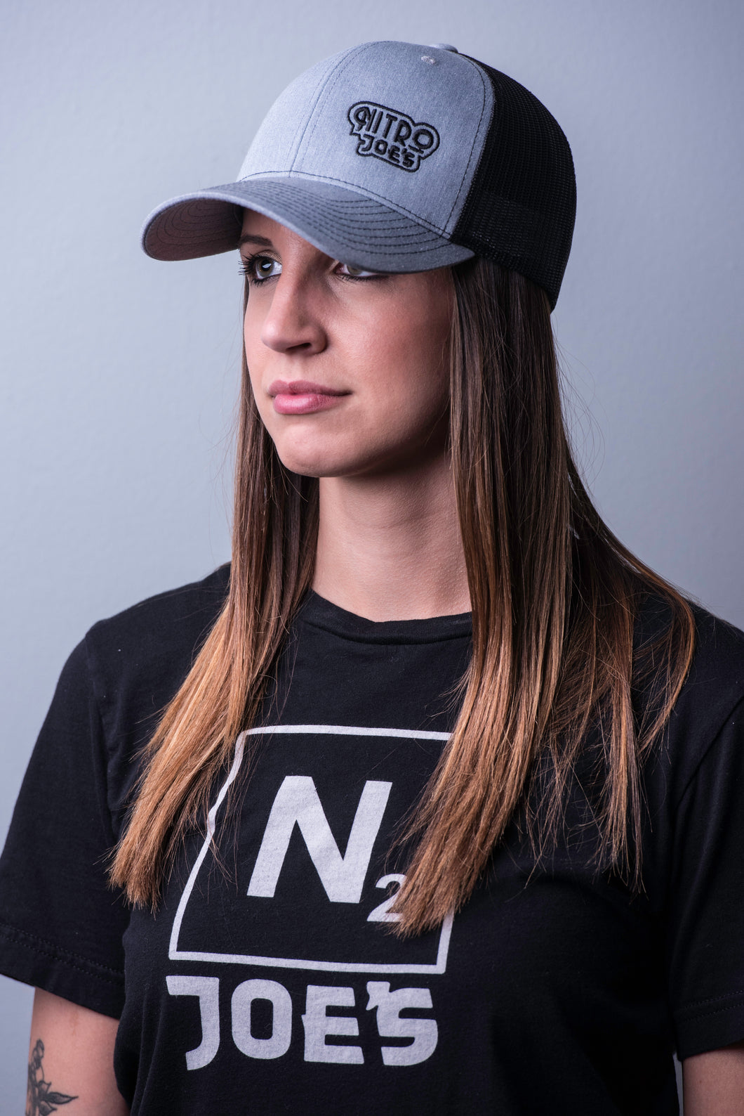 NJ Logo Trucker Hat