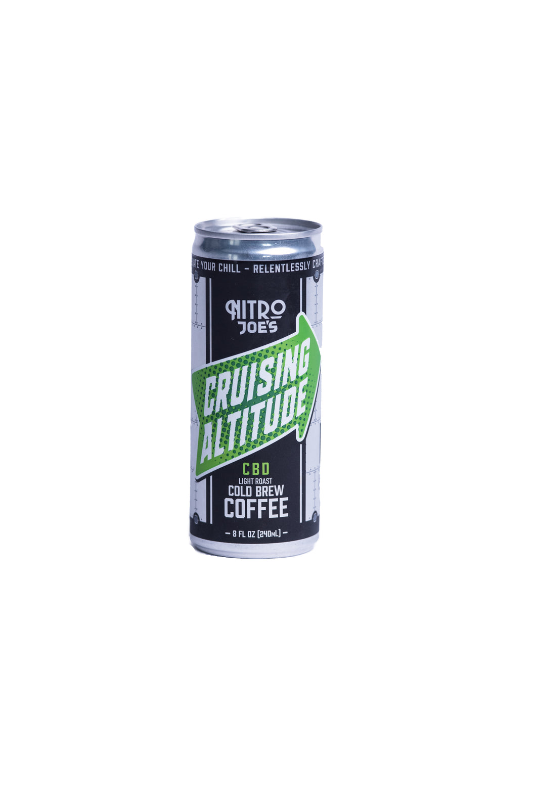 4-Pack Cruising Altitude Light Roast Cold Brew with CBD