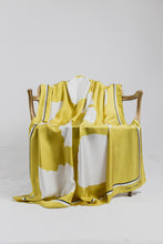 Gold Cotton Paper Simplicity - silk scarf - fgtonsilk