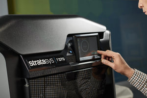 Stratasys F123 touch screen is easy to use