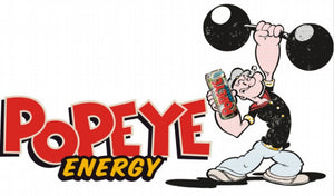 13.5″ Popeye Energy Vintage Logo Sticker