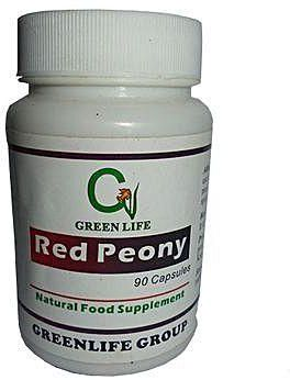 Greenlife Red Peony Capsule – Fibroid, Stasis & Uterine Bleeding