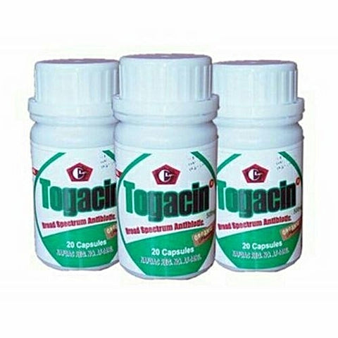 Togacin Broad Spectrum Antibiotics For Infections 3-in-1