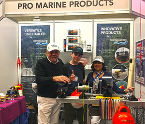 The Pro Marine Crew at the Vancouver Boat Show !!