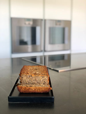 Overnight Oat Banana Bread