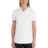 Embroidered Deconstructed Kit Women's Polo Shirt
