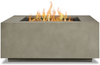 Alda Square Lp Fire Table with Ng Conversion Kit