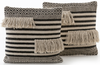Aldana Split-Fringe Pillow Set