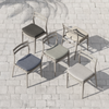 Alison Grey Outdoor Dining Chair