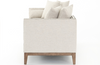 Amherst Double Chaise - Ivory White