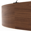 Bachman Dark Walnut Chandelier