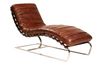 Boyd Leather Chaise