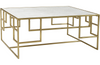 Caelan Brass Coffee Table