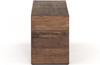 Callista End Table - Rustic Brown