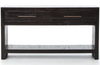 Chandler Console Table - Burnished Black