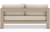 Ciara Washed Brown Outdoor Sofa