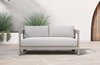 Ciara Weathered Grey Outdoor Sofa