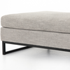 Doran Right-Arm Ottoman
