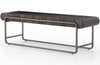 Elise Wooden Sled Bench