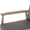 Erick Weathered Grey Outdoor Chair