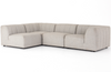 Geneva Outdoor 4-Piece Sectional