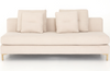 Glenna Armless Sofa Piece