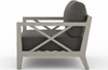 Halvor Weathered Grey Outdoor Chair