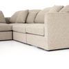 Isabela 4-Piece Sectional with Ottoman