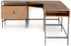 Jepson Modular Desk System with Filing Cabinet