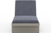 Layton Weathered Grey Outdoor Chaise