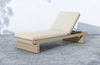 Layton Washed-Brown Outdoor Chaise