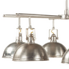 Levi Industrial 6-Light Chandelier