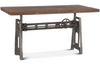 "Levi Industrial 60"" Adjustable Crank Desk"