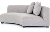 Lilliana Right-Arm Crescent Sectional