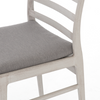 Lovell Grey Outdoor Dining Chair