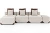 Melaina 7-Piece Pit Sectional