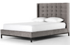 Nadine Tall Harbor Grey Bed