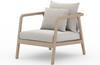 Novak Washed Brown Outdoor Chair
