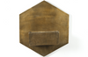 Odran Brass Hexagon Wall Planter