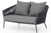 Paige Two-Seat Outdoor Sofa